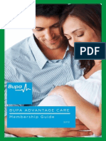 Bupa Advantage Care Policy