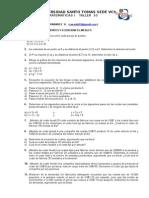 Taller 10 Ecuaciones Lineales