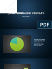 questionaire results