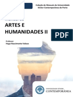 Manual de Artes e Humanidades II (Preview) - Hugo Nascimento Veloso- Edições da Universidade Sénior Contemporânea