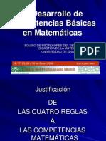 Desarrollo de Competencias Basicas en Matematicas