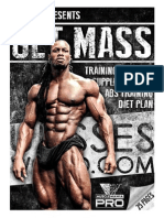Arnold blueprint mass phase two get mass with diet plan and cradio plan malvernweather Gallery