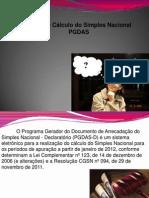 Forma de Cálculo do Simples Nacional - PGDAS
