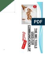 Integrated Marketing on Coca Cola by Ritesh Marath