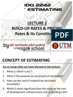 Lecture 2 - Build Up Rates