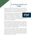 El Enfoque Genético de Piaget