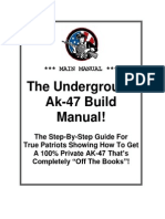 Underground Ak 47 Build Manual