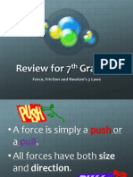 Review on Force, Friction and Newtons Laws