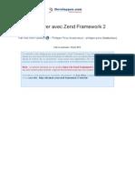 Demarrer Avec Zend Framework 2