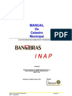 Manual de Catastro Municipal(INAP BANOBRAS).Desbloqueado