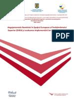 Angajamentele Romaniei in Spatiul European Al Invatamantului Superior