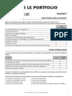 Vers Le Portfolio Dossier 7