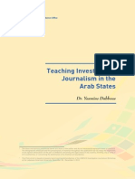 Teaching Investigative Journalism in the Arab States