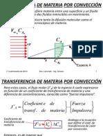 Fenómenos de transporte - Transferencia de Materia Por Convección