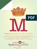 Agenda Cultura Marzo 2014