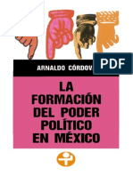 La Formacic3b3n Del Poder Polc3adtico en Mc3a9xico