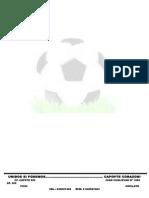 Balon Ded Futbol