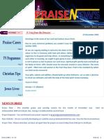 Praise News - Nov-Dec 2009