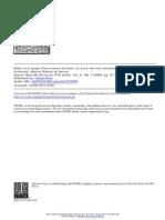 Ribeiro - Bodin Et Le Projet d'Une Sc. Du Droit. La Juris Universi Distributio