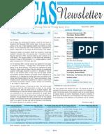 BCAS Newsletter December 09