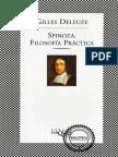 Deleuze-  Spinoza filosofía practica