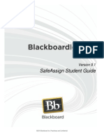 Bb 91 SafeAssign Student Guide