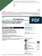 Empresa Lança Recarga de Celular Por 'Wi-fi' Para Casa e Lugares Públicos - 14-10-2014 - Tec - Folha de S