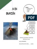El Volcán en Erupción
