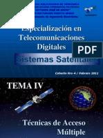 Tema 4 Tecnicas de Acceso Multiple Al Satelite