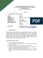 Silabus de Fisica I Por Competencia 2014-2