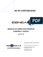Manual Libros Electrónicos Concar CB Version 2.0