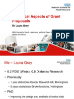 _Statistical Aspects of Grant Proposal