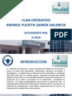 Presentacion Del Plan Operativo