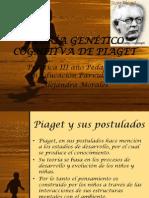 Teoria Genética Gognitiva de Piaget