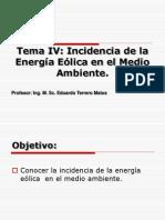 Incidencia de la energía eólica en el medio ambiente