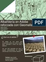 Albañilería en Adobe reforzada con GeomallaPPT(CORREGIDO) final