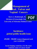 Cervical Vulva r Cancer 2012