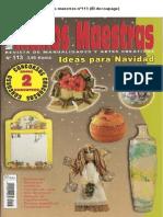 Manos Maestras Nº113 (El Decoupage)