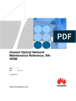 Huawei Optical Network Maintenance Reference NA-20110812-C