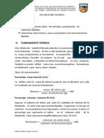 informe  de disoluciones químicas