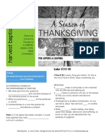 Thanksgiving 3 Luke 17-11-19 Handout 111614
