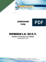 Curriculum Vitae Diprexca SA de CV
