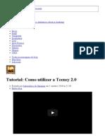 Tutorial_ Como Utilizar a Teensy 2