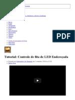 Tutorial_ Controle de Fita de LED Endereçada - Laboratorio de Garagem (Arduino, Eletrônica, Robotica, Hacking)