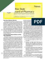Ohio Pharmacy State Board Newsletter (Nov 2014)