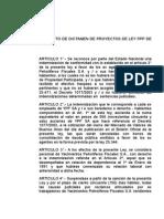 Proyecto de Dictamen de Proyectos de Ley Ppp de Ypf s.a.