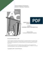 Associate Constructor Study Guide