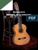Resumen de La Historia de La Guitarra