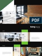 Küng sauna brochure
