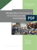 PROBLEMAS SOCIALES Y CULTURALES DEL PERÚ CONTEMPORANEO